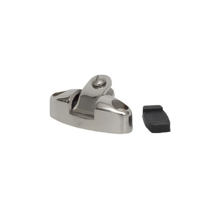 AISI 316 Deck Hinge Side Mounted - L = 70mm, H = 45mm, C = 17mm