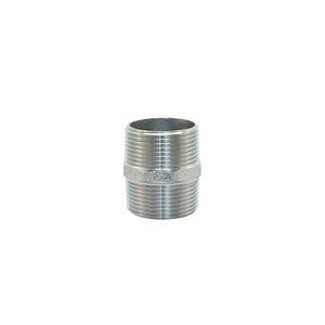 AISI 316 HEX Nipple 1 inch (25mm)