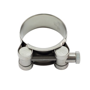 Pack of 2 AISI 316 Super Hose Clamp 26 to 28mm