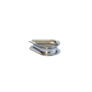 Pack of 5 AISI 316 Thimble for 3mm Wire Rope