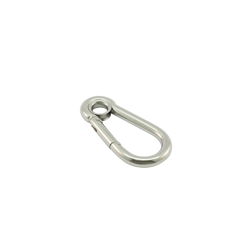 AISI 316 Carbine (Carabiner) Hooks with Eye